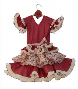 vestido de flamenca para niña