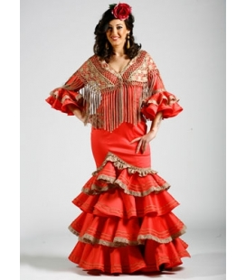 Traje de Flamenca Aurora