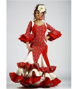 Traje de flamenca Sra. Zafiro super