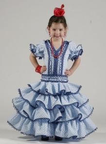 Vestido flamenca niña 2014 Salinas