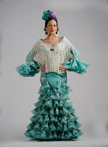 Trajes de Flamenca 2015 Guadalquivir