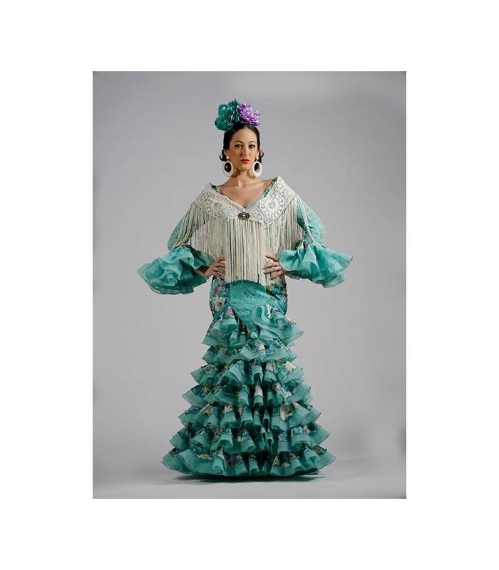 Vestido verde de niСЂС–РІВ±a