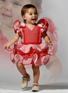 Trajes de flamenca niña Gala