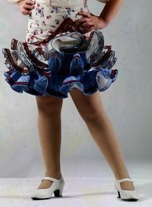 Faldas Flamencas Niña 2015 Tamara