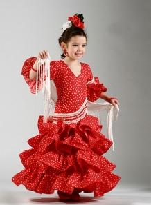 Trajes de flamenca niña 2015 Compas