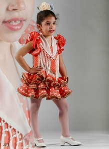 Trajes de Flamenca Niña 2015 Luna