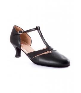 Zapato Baile Salon Profesional Negro, Ref: 573009