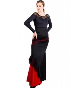Faldas De Flamenco Con Encaje