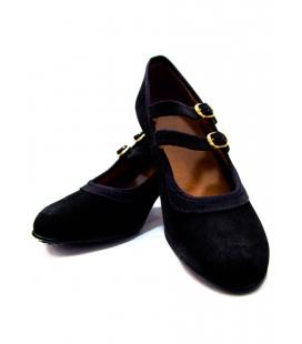 zapatos flamenco ante
