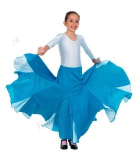 Falda de sevillanas mod. EF-006 niña