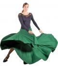 Faldas flamencas 8 godet