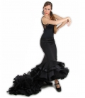 faldas de cola flamenca