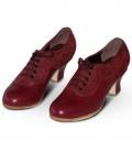 zapato flamenco abotinado