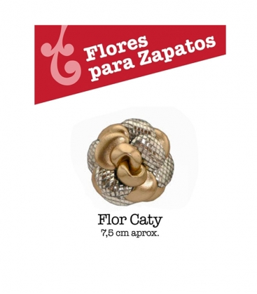 Flor Caty complementos zapatos de flamenco buleria