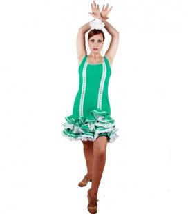 Traje de flamenca cortos