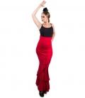 faldas flamencas rojas