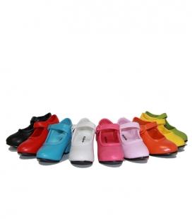 Zapatos de Flamenco Piel Sintética