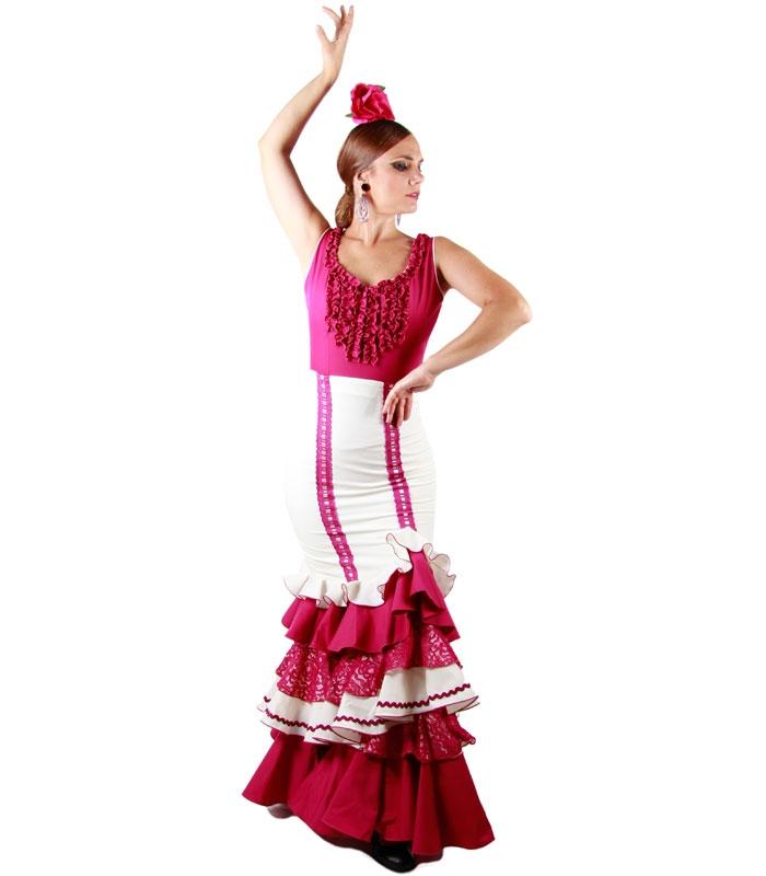 Falda flamenca y rociera
