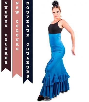 Faldas Flamencas Salón Cintura Alta