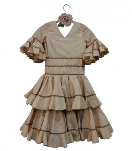 trajes de flamenca niña baratos