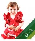 Trajes Flamenca Niña - Tallas 0 y 1