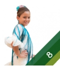 Trajes de flamenca niñas - Talla 8