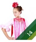 Trajes de flamenca niña - Talla 14