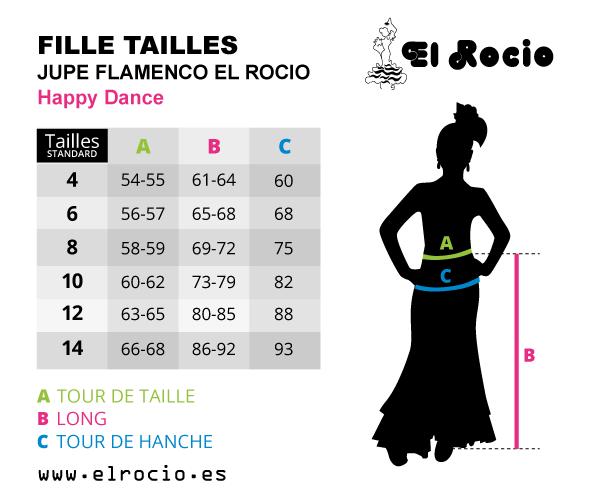 jupe de flamenco happy dance