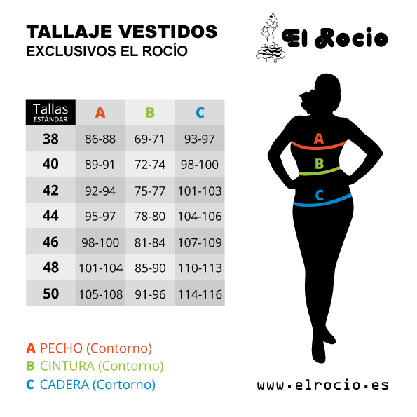 Tallas vestidos flamencos happy dance