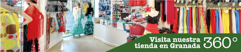 Tienda online de moda flamenca virtual el rocio