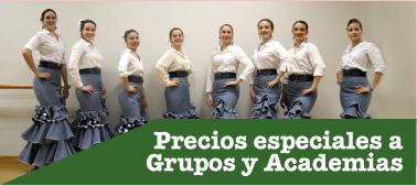 Descuentos a Grupos de Baile y Academias