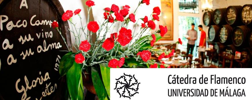 Catedrá de Flamenco por la Universidad de Málaga en El Pimpi