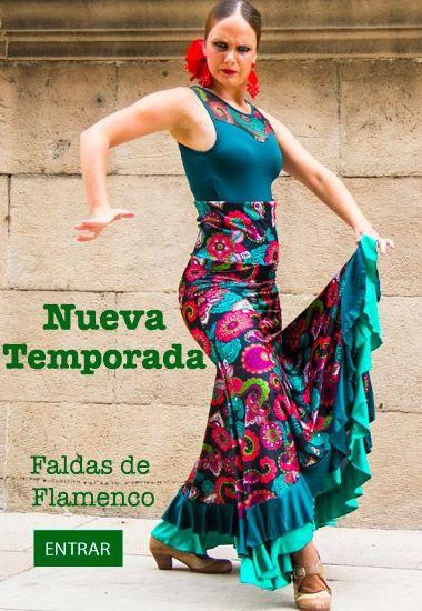 Faldas Flamencas de Baile