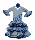 Vestido de Flamenco Niña, talla 0