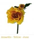 Flores de Flamenca Dulce, modelo 8303