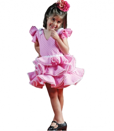 9932d5ca39 Vestidos de Flamenca Niñas 2018