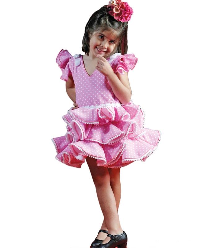 Vestidos de Flamenca Niñas 2018, Ilusión