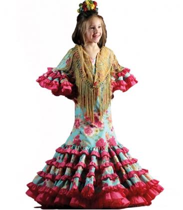 Vestidos De Flamenca Niñas 2018 Azahara Super