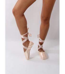 Zapatilla ballet punta rigida mod. Sd 30 b