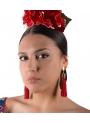 Pendientes Flamencos de Flecos