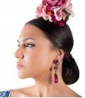 Pendientes de flamenca, Modelo Bellota