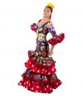 Vestido de Flamenca 2018, Talla 36 (S)