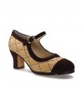 Zapatos de Flamenco mod. Moneta profesional