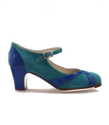 Zapatos de flamenco sur buleria sabates