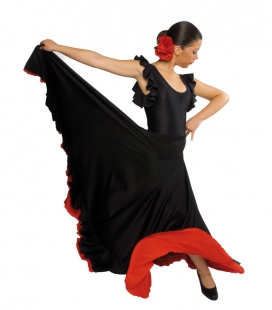 Falda de flamenco mod. EF014 niña