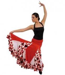 Falda de flamenco niña mod. EF075