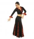 Falda flamenca mod. EF105 sra