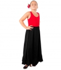 Faldas Flamencas de Ensayo, Modelo F115
