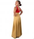faldas de ensayo de flamenco para niñas