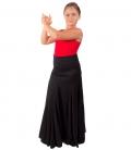 falda de ensayo flamenco para niñas
